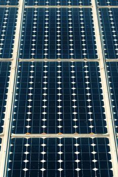 Solar panels surface