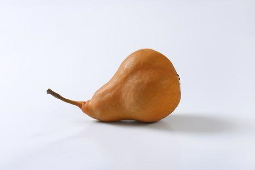 Ripe Bosc pear