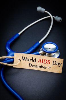 World AIDS day December 1st.