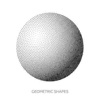 Three-dimensional geometric figures collected from points