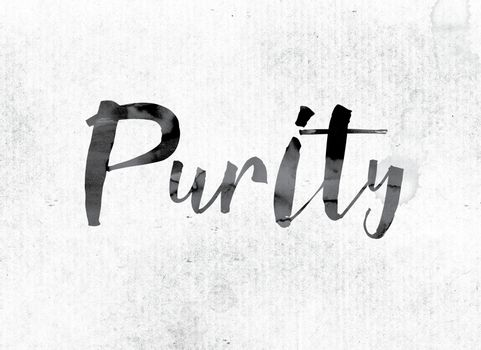 Purity Concept Painted in Ink