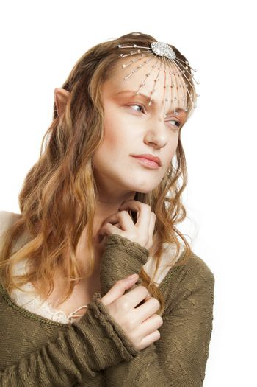 Elf beautiful woman