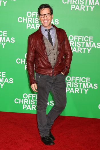 """Dan Bucatinsky at the """"Office Christmas Party"""" Premiere, Village Theater, Westwood, CA 12-07-16/ImageCollect"""