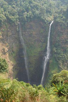 Tad Fane Waterfall, Laos, Asia