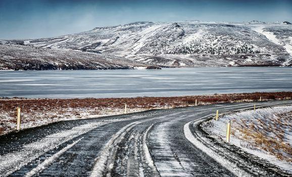 Beautiful Iceland landscape