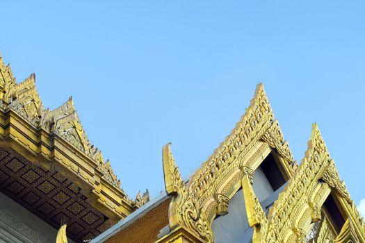 Famous Wat Trimit temple