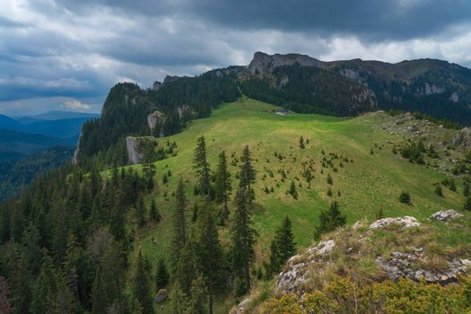 The seven ladders canyon hike is popular hike near Brasov.