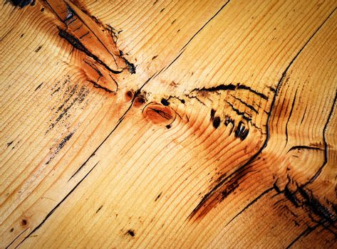 detail of the artwork on a wooden board
