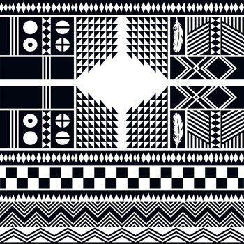 native pattern tribe culture