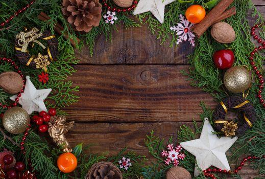 Christmas festive backround