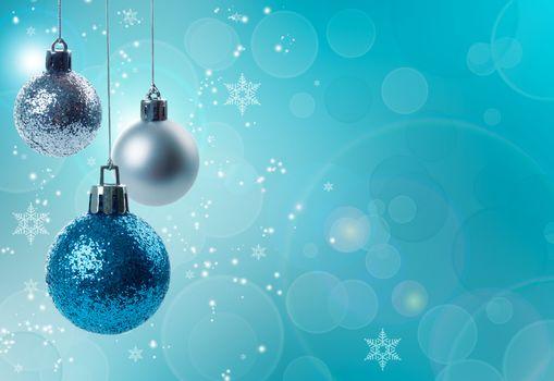 Christmas decorations concept