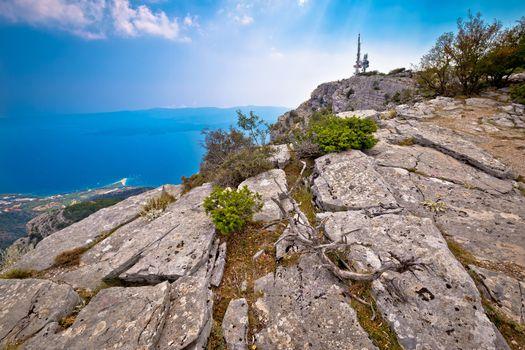 Vidova Gora mountain on Brac island