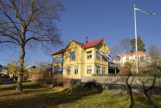House in Vaxholm.