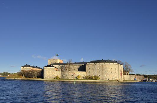 Vaxholm fortress, Stockholm archipelago, Sweden.