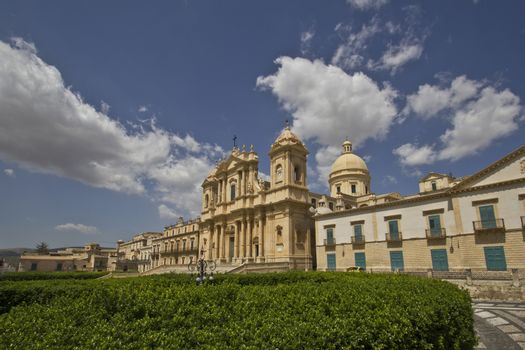 view of the city of Noto