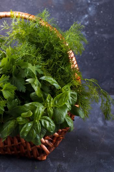 Mix of fresh herbs