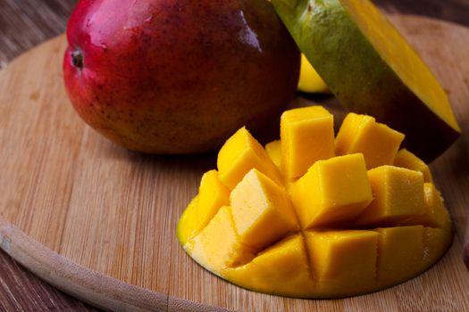 Fresh organic mango