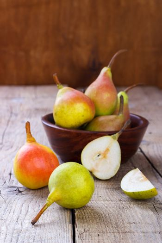 Healthy Organic Pears