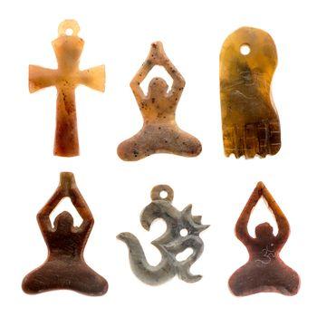 Pendant indian cultural symbols