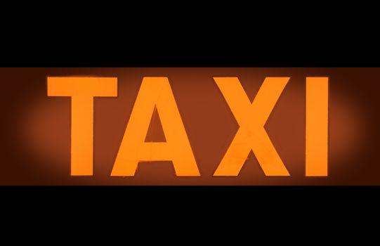 Taxi Light Sign