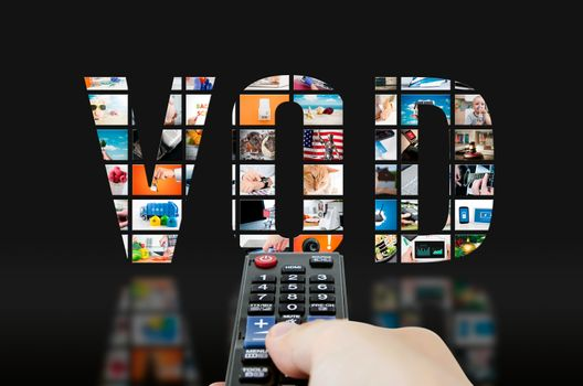Video on demand television service