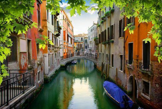 Calm venetian street