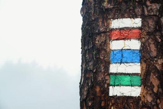 tourist mark in czech republic
