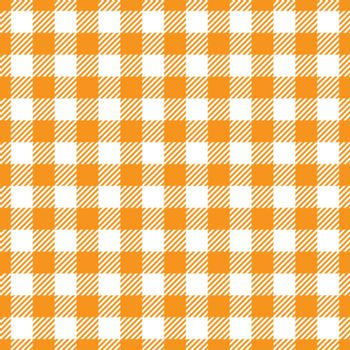 Seamless Yellow White Traditional Gingham Pattern Fabric Texture
