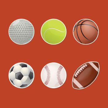 Collections of balls for play