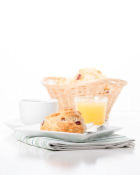 Scone Breakfast Portrait