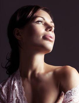 Gorgeous seductive woman