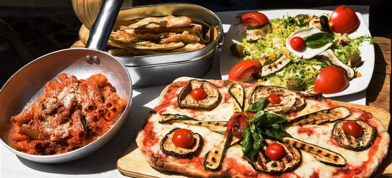 Tasted and famous Italian food