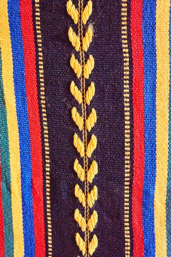 Traditional hand-made tapestry
