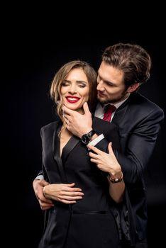 Beautiful sensual couple
