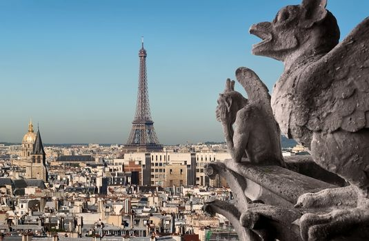 Eiffel Tower and Chimeras