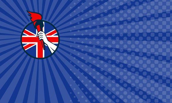 Britain Athletics Business card