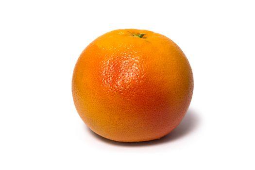 Grapefruit (citrus fruit) isolated on white background