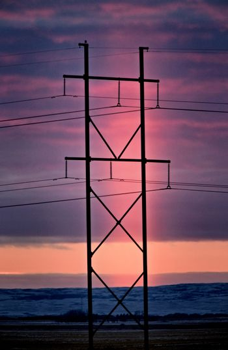 Light Pillar Saskatchewan