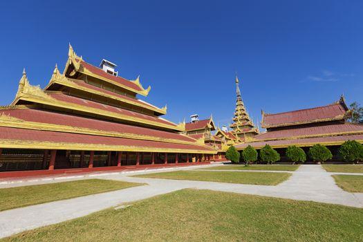 Mandalay Palace.Myanmar