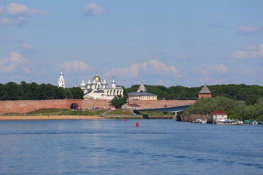Novgorod Kremlin and Sofia cathedral