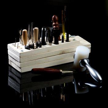 Arrangement of Tanneries Tools