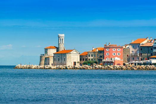 Piran, beautiful medieval town on Slovenia Adriatic coast