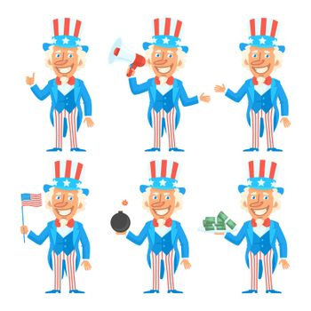 Uncle Sam Character in Different Versions