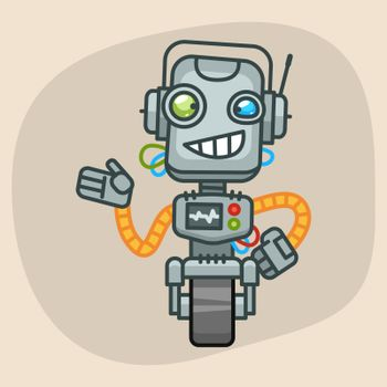 Robot Smiles and Shows