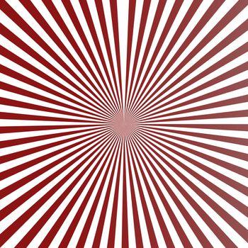 Background, circular stripe pattern in retro colors.