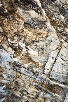 quartz and limestone conglomerate