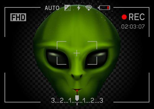 camera rec alien in dark