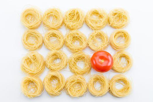 classical dry italian pasta