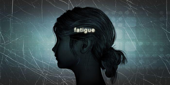 Woman Facing Fatigue
