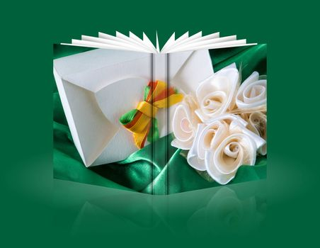 book of a gift for wedding,Valentine's, mother and women day
